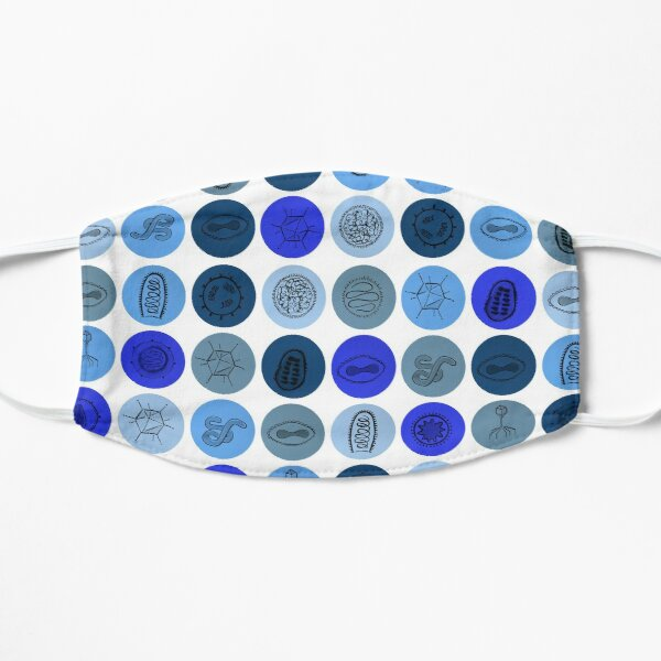 Blue Virus Dots  Mask