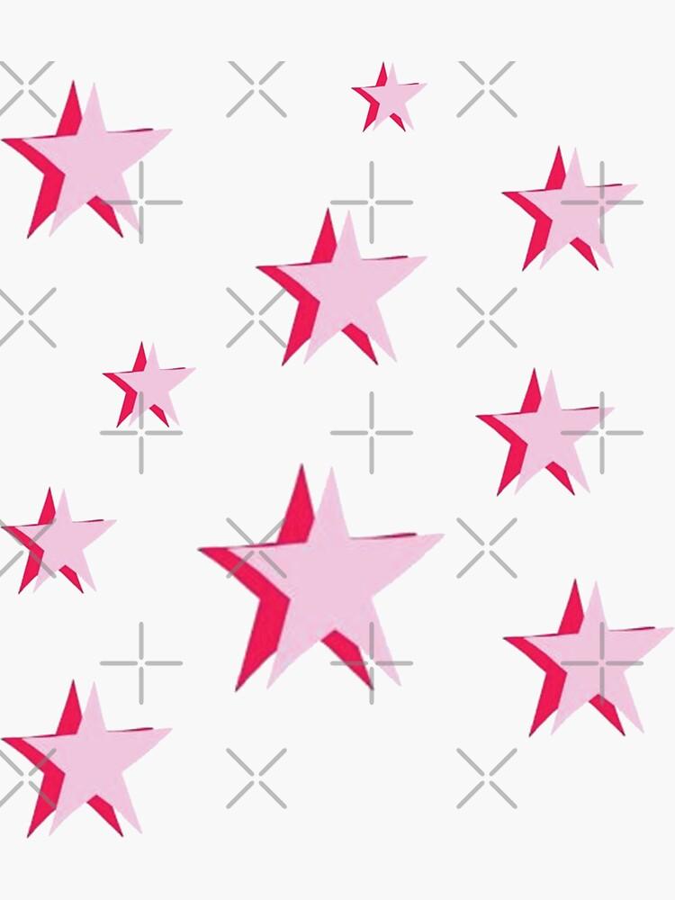 Pink Stars by sydneyw31