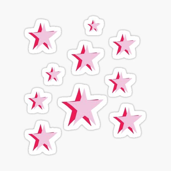Étoiles roses Sticker