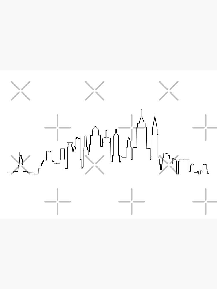 Skyline de la ciudad de Nueva York de Ashleylcoop