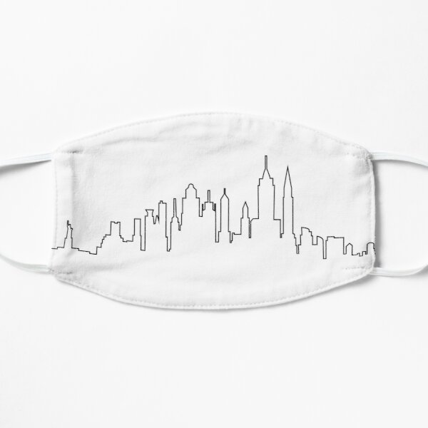 Skyline von New York City Maske