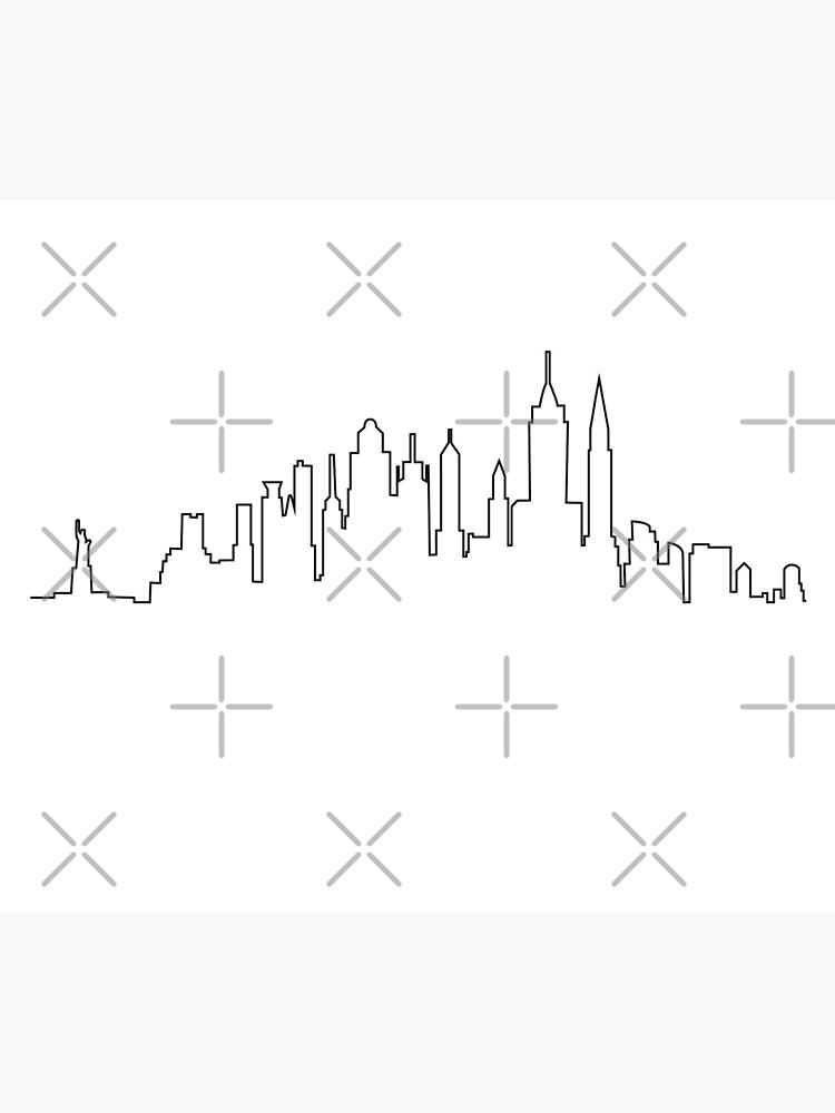 New York City Skyline by Ashleylcoop