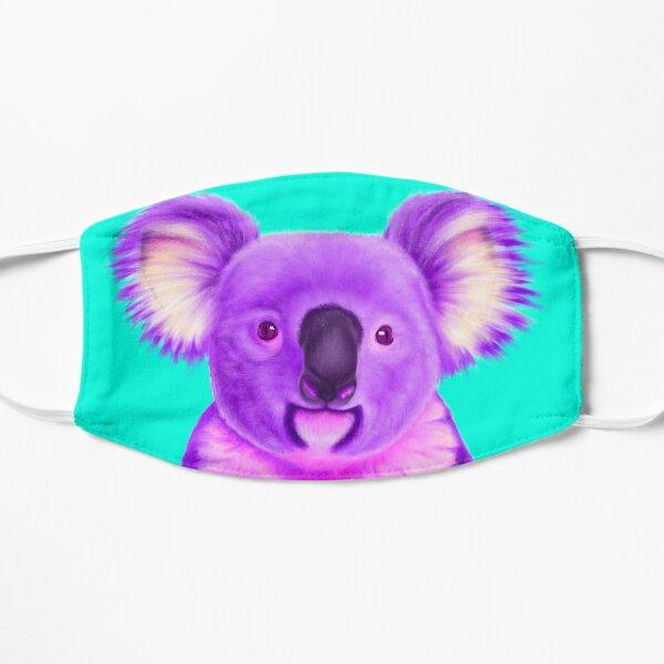 Purple Koala Flat Mask