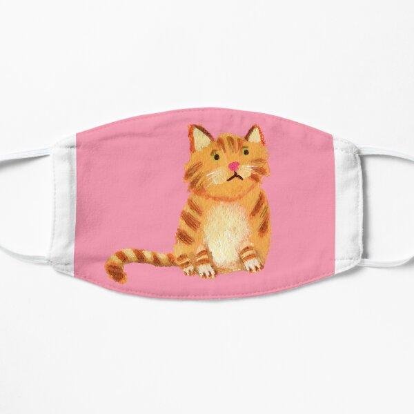 Ginger Cat on pink Mask