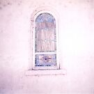 the mission window - ricardo pechaco paca  by candace lauer