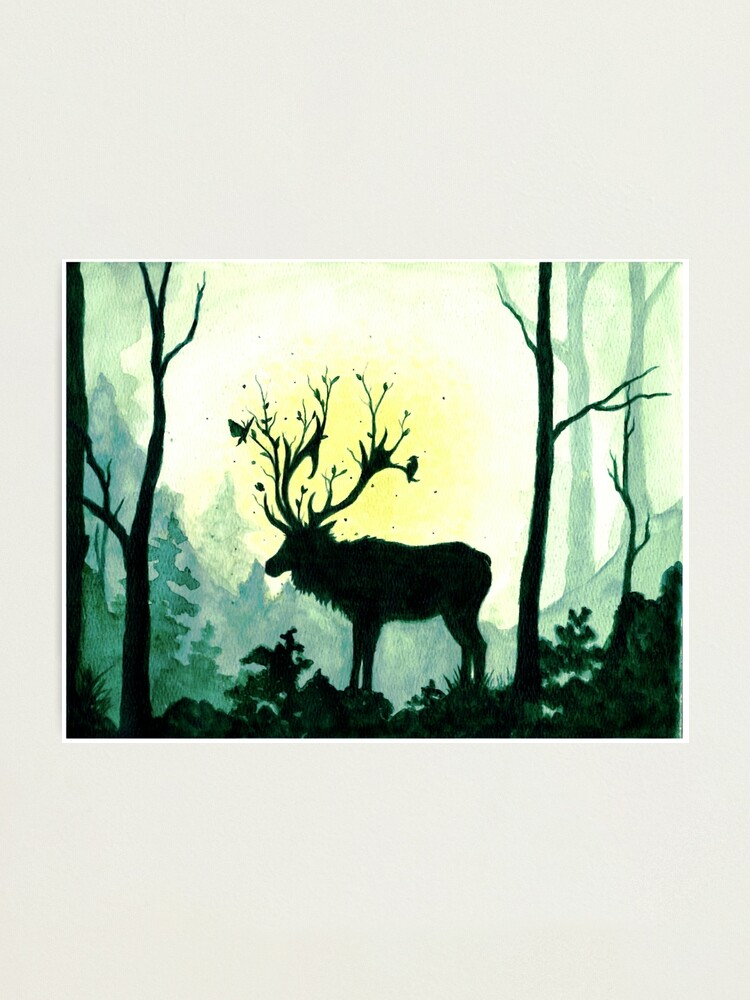 Alternate view of Spring Forest Spirit  Photographic Print