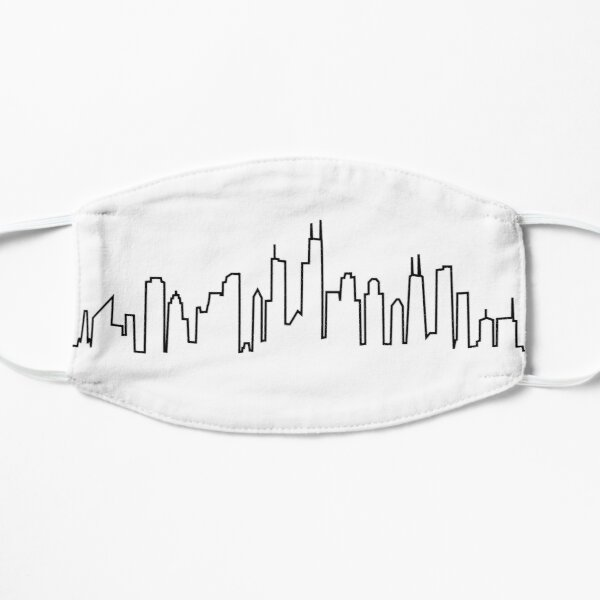 Chicago City Skyline Mask