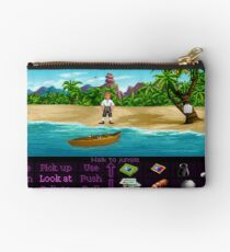 Finally on Monkey Island (Monkey Island 1) Studio Pouch