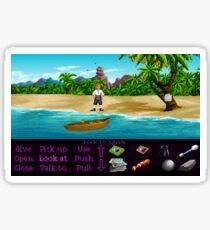 Finally on Monkey Island (Monkey Island 1) Sticker