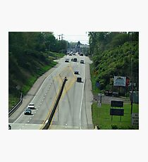 Highway Driving Photographic Print