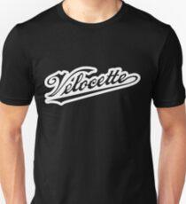 Outlined Velocette script Unisex T-Shirt