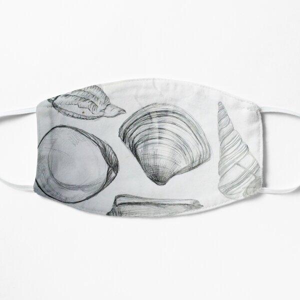 Sea Shells 4 by Margo Humphries Flat Mask