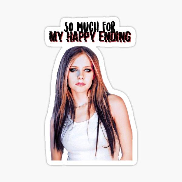 Avril Lavigne Design Pegatina