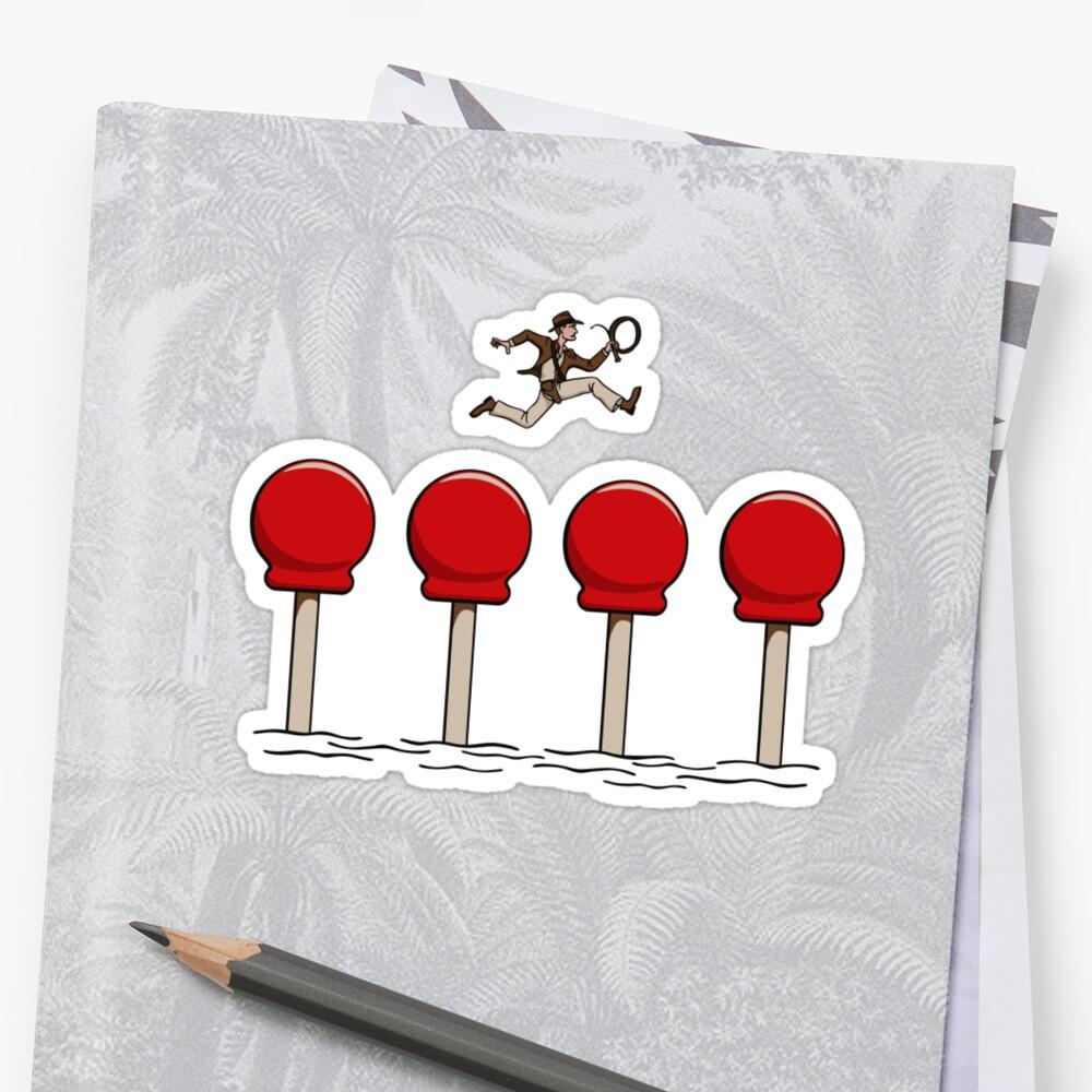 Big Red Balls of Doom by DoodleDojo