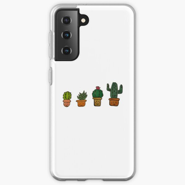 Cacti Characters Samsung Galaxy Soft Case