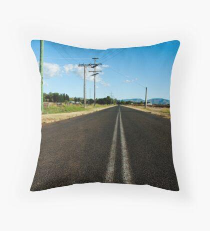 VAST (space 01) Throw Pillow
