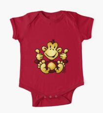 Manic Monkey with 4 thumbs up Kids Clothes