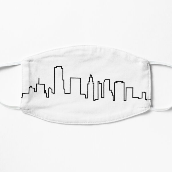 Houston, Texas City Skyline Mask
