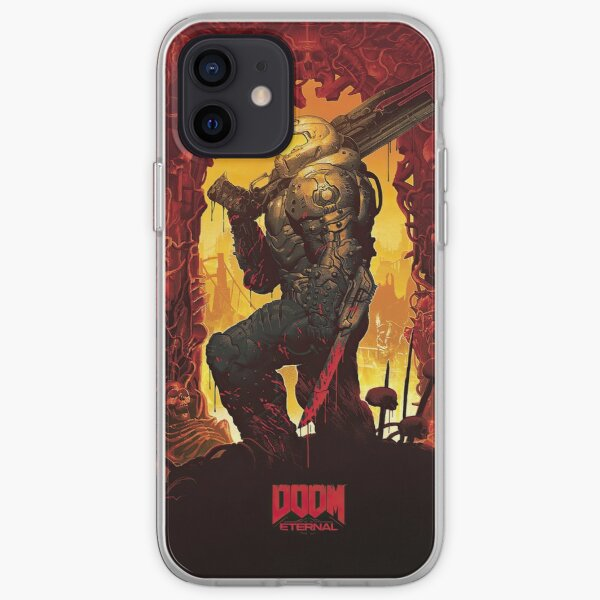 Doom Eternal Fanart iPhone Soft Case