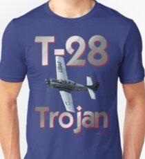 Nordamerikanisches T-28 Trojan T-Shirt Design Slim Fit T-Shirt