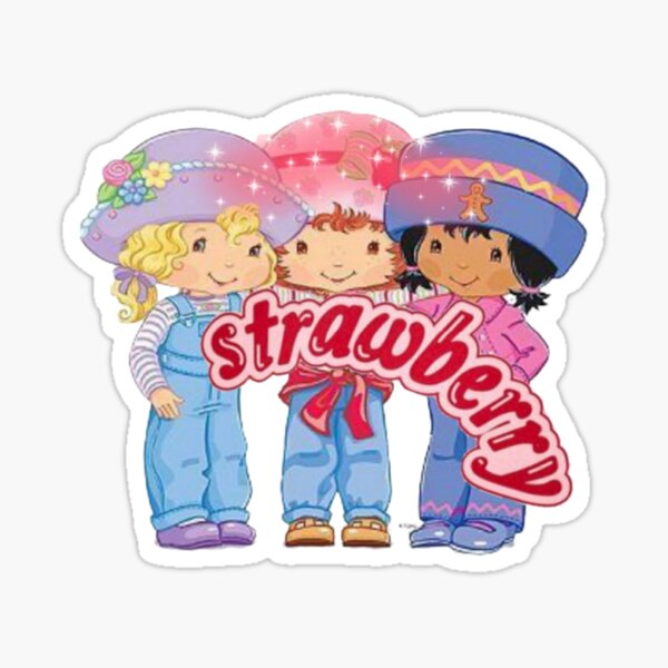 Strawberry shortcake and friends  Sticker