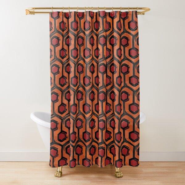 Overlook Hotel Carpet Shower Curtain