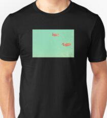 Ducks Swimmimg in the Water Unisex T-Shirt