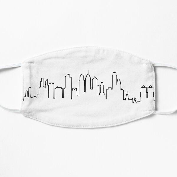 Philadelphia City Skyline Mask