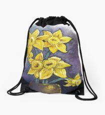 Almost Spring Drawstring Bag