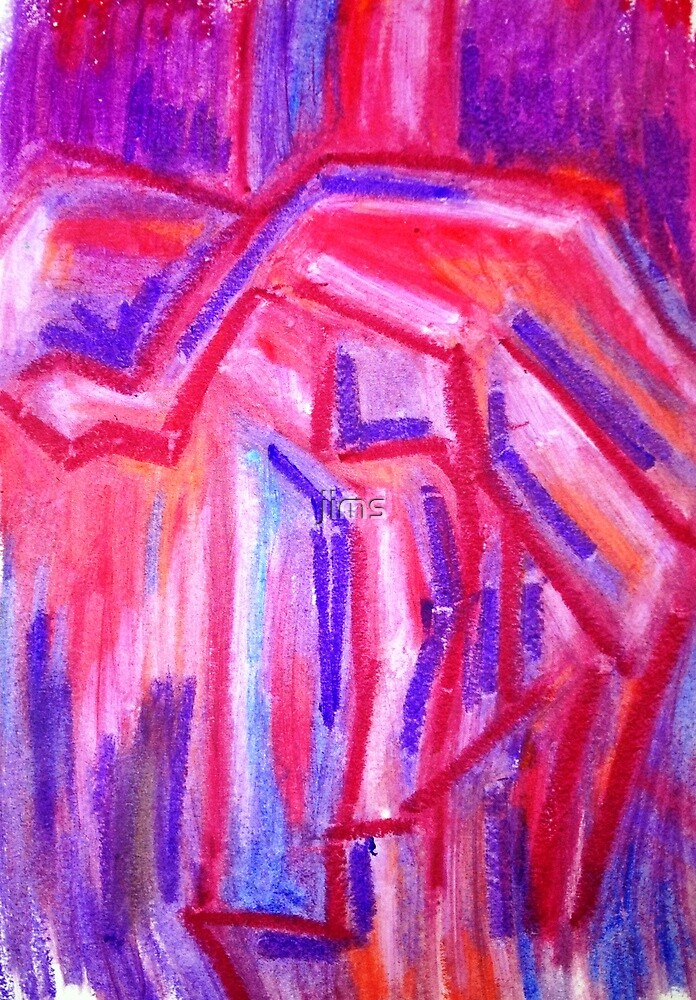 Colour study-pinks and purples by jims