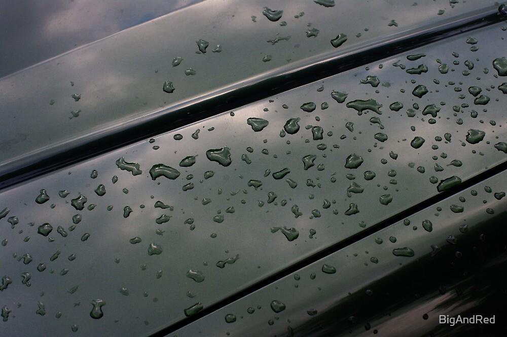 rain on fresh polish by BigAndRed