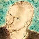 Blue portrait CV... by karina73020