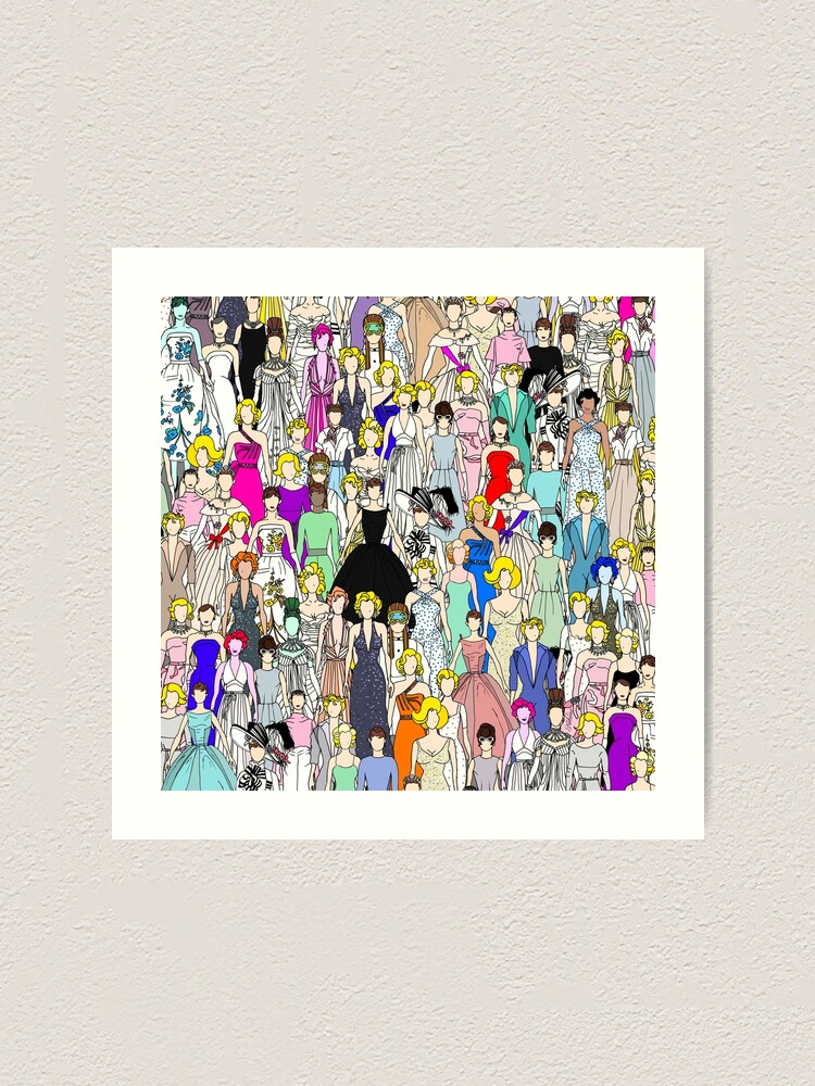Alternate view of Tokyo Punks 5 - Feminist Multicultural Unite Art Print