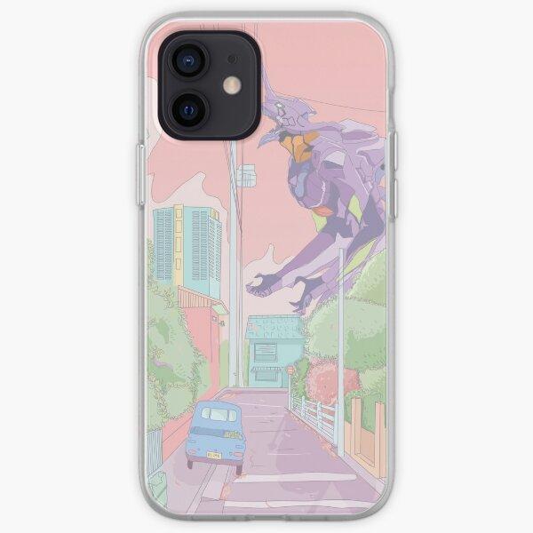 Pastel Neon Genesis Evangelion Coque souple iPhone