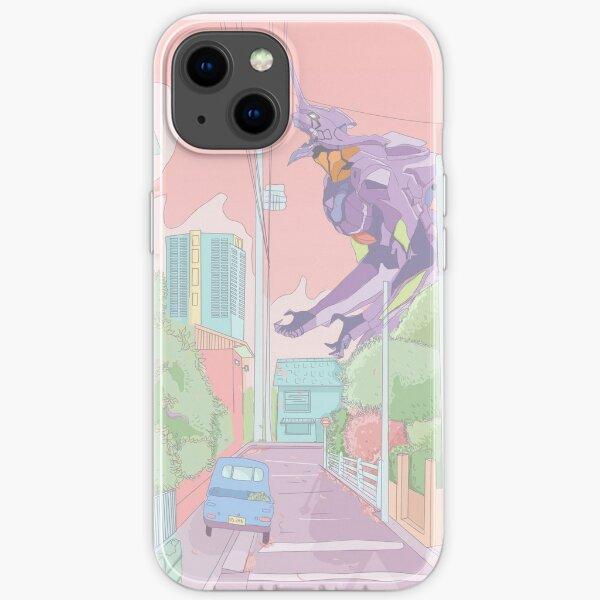 Pastel Neon Genesis Evangelion  iPhone Soft Case