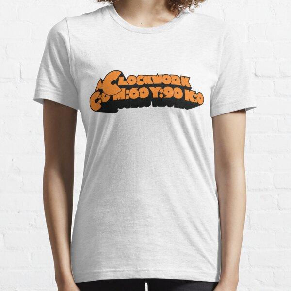 A Clockwork CMYK Orange Essential T-Shirt