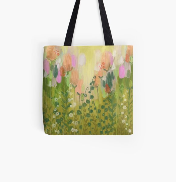 The Green Glades All Over Print Tote Bag