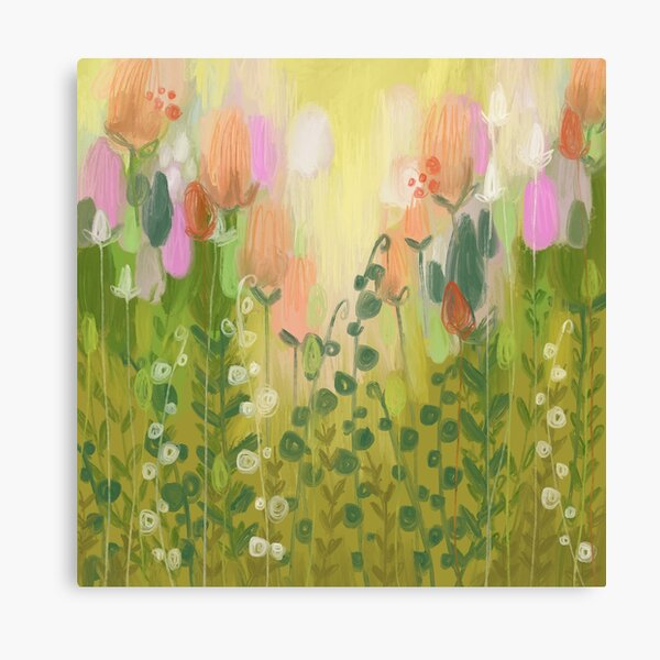 The Green Glades Canvas Print