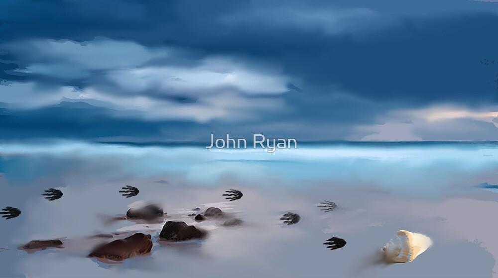 Da beach  by John Ryan