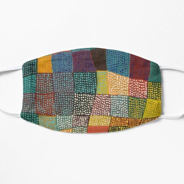 Dot Patchwork Landscape Flat Mask