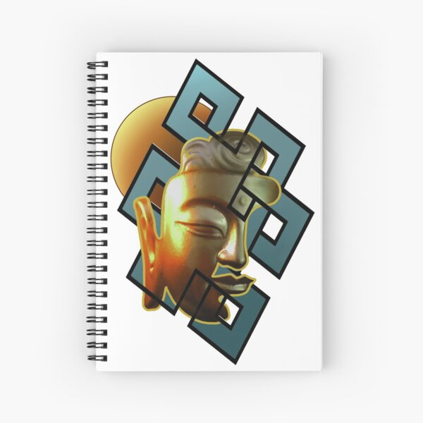 Wisdom and Method Spiral Notebook