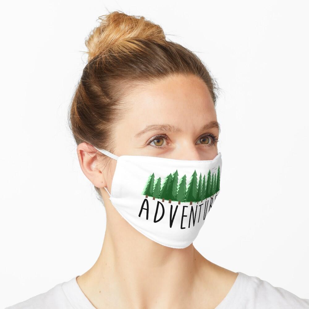 Abenteuer, Reisen, Natur erkunden Maske
