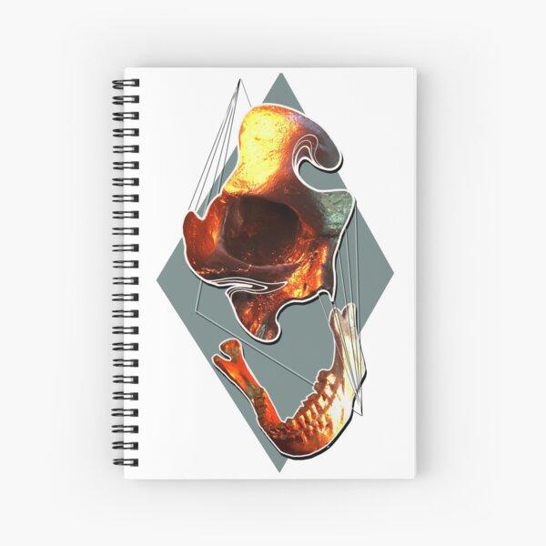 Parts Apart Spiral Notebook