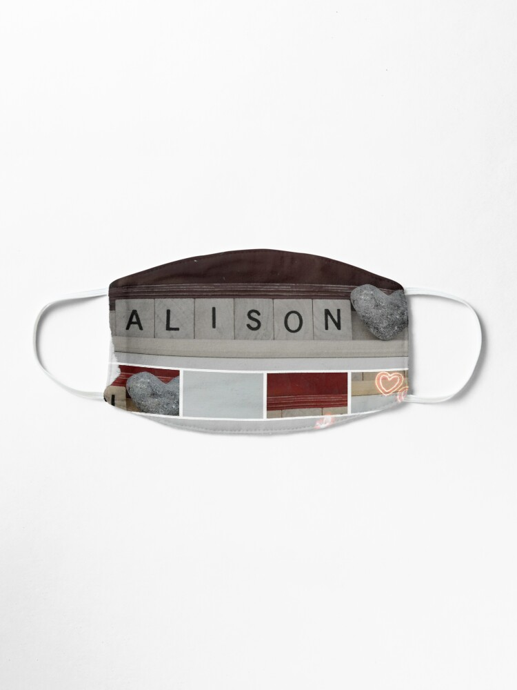 Alternate view of Alison  Mask