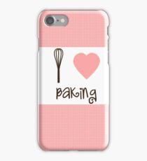 I Heart Baking  iPhone Case/Skin