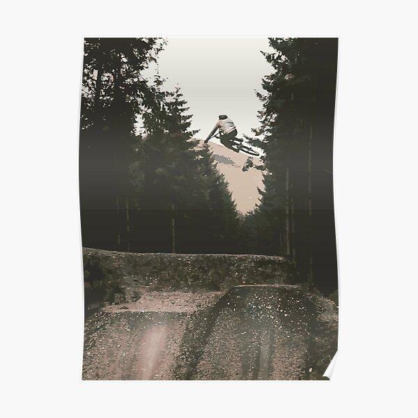 Affiche de vélo de montagne Whistler Poster