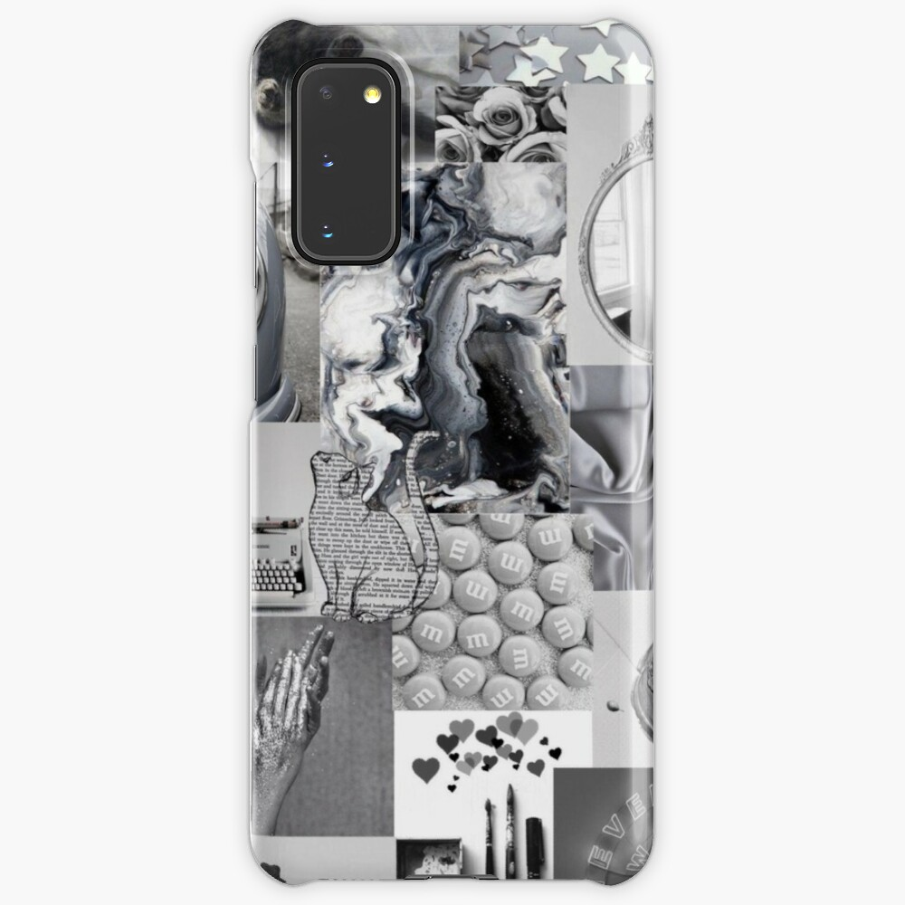 Black And White Aesthetic Collage Instagram Mood Board Theme Wallpaper Iphone Wallet By Jeonqz Redbubble