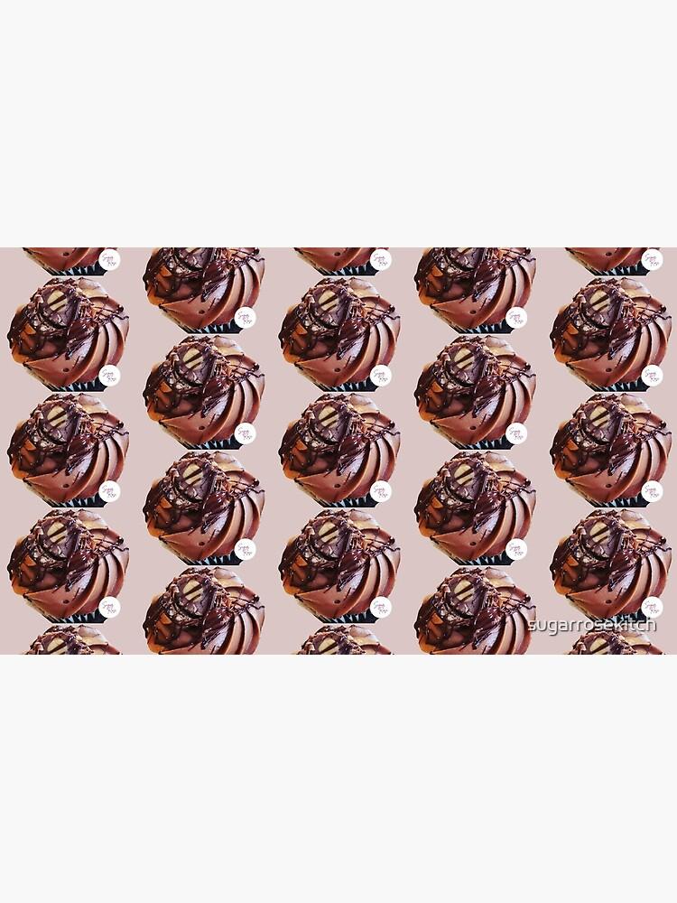 Chocolate and hazelnut cupcake by sugarrosekitch