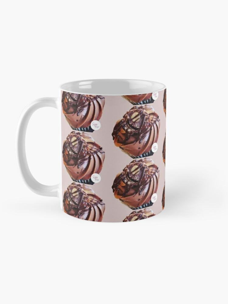 Alternate view of Chocolate and hazelnut cupcake Mug