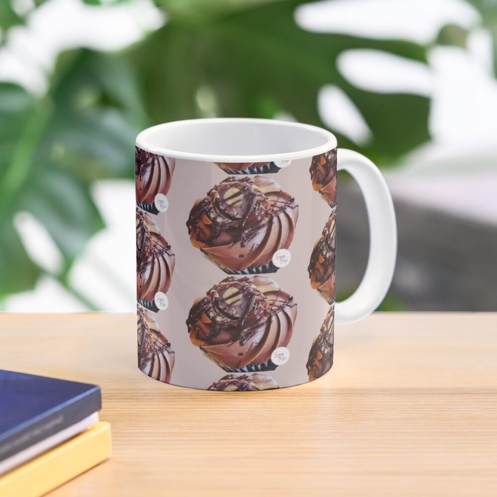 Chocolate and hazelnut cupcake Mug